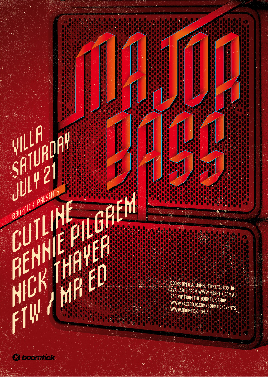 Major Bass ft. RENNIE PILGREM, Cutline & Nick Thayer!