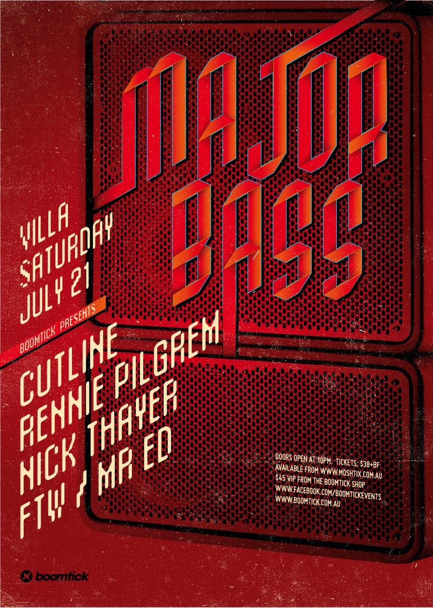 Major Bass ft. RENNIE PILGREM, Cutline & Nick Thayer!